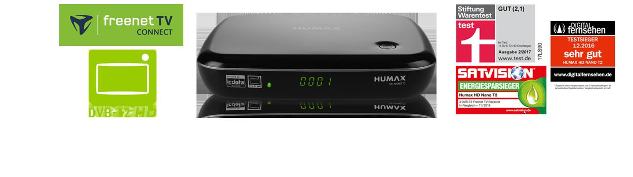 Hd Nano T2 Humax Germany