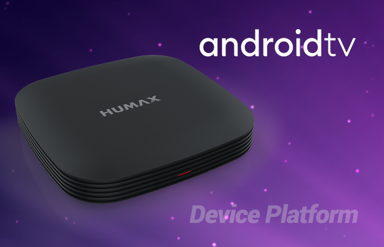 Humax announces the world's most advanced Android TV device platform